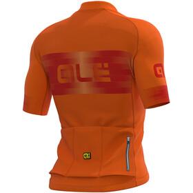 Alé Cycling Graphics PRR Scalata Maillot Manga Corta Hombre, fluo orange/masai red